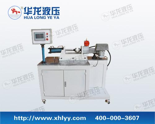 原理:齿轮泵输出的液压油驱动液压马达【液压泵】,液压马达驱动传